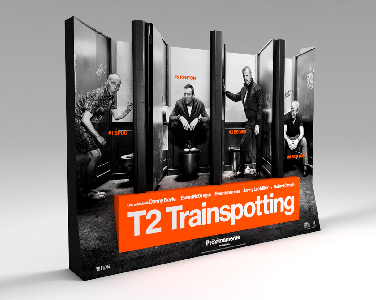 Standee T2 Trainspotting