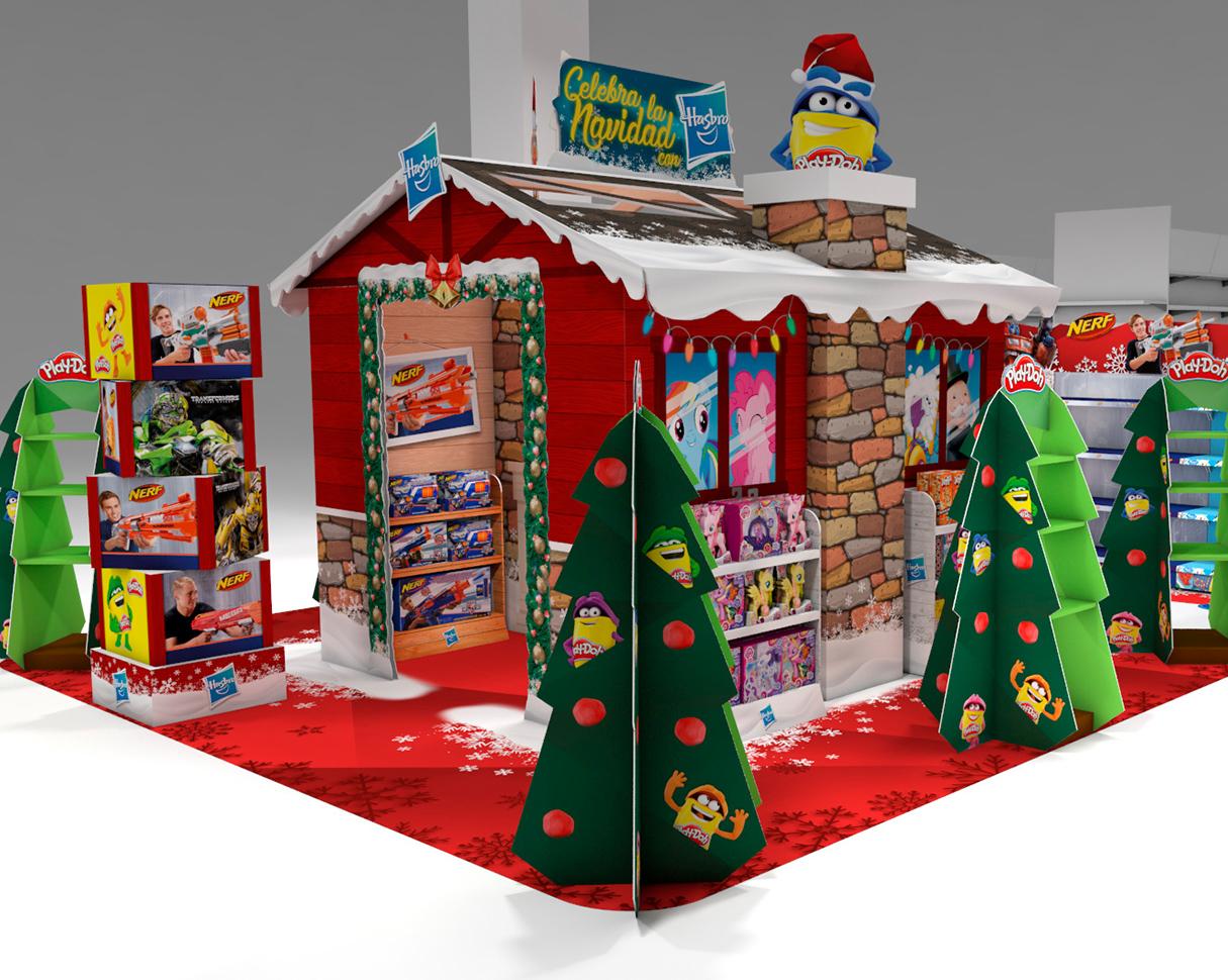 Espacio Navidad De Hasbro Para Alcampo
